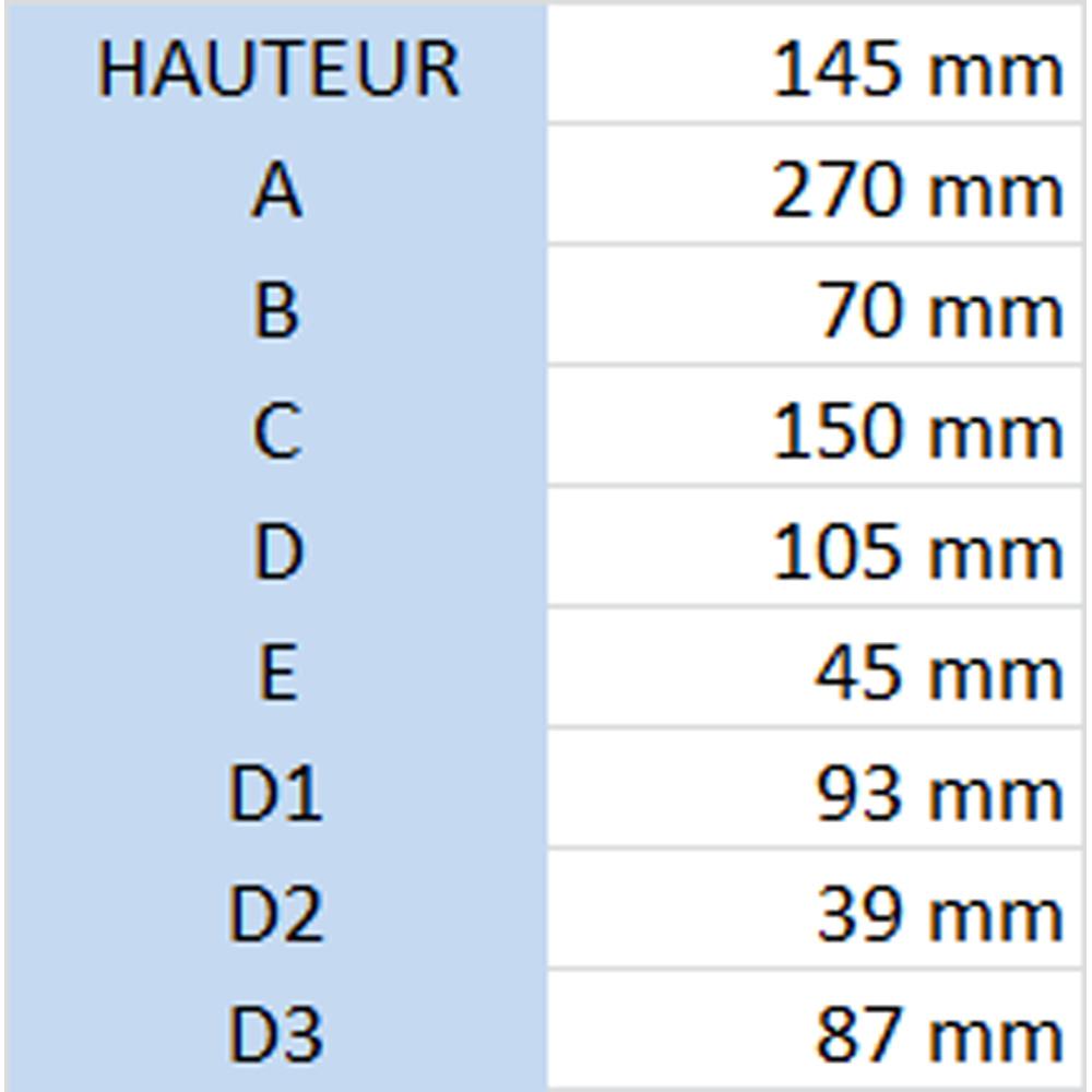 Cartouche pour filtre essence avec décanteur - 206 l/h