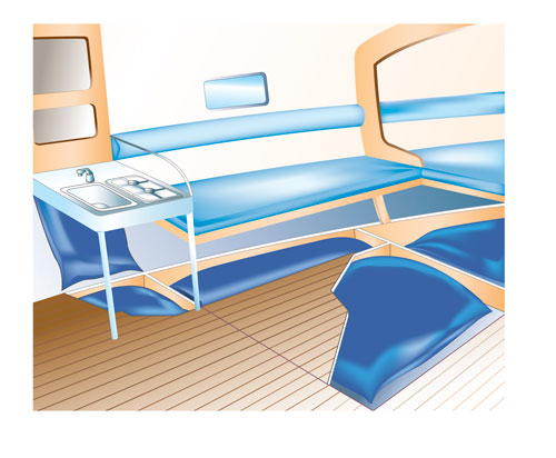 implantation réservoirs souples Plastimo